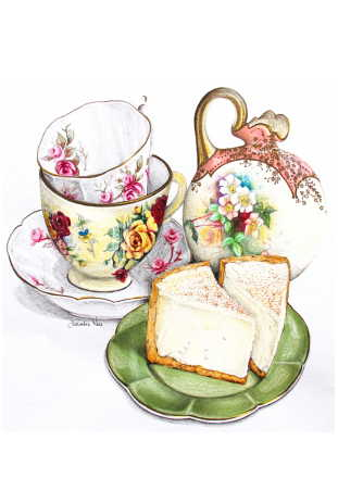 Lemon Bistro Cheesecake