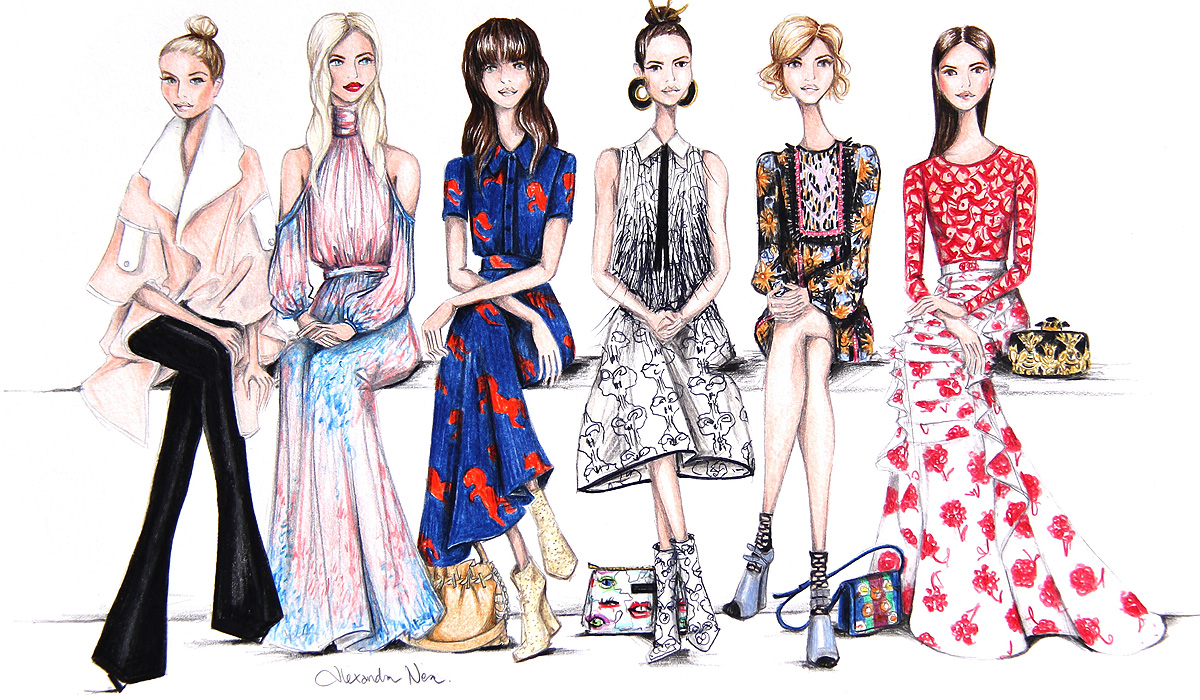 Illustration Techniques For Fashion Designers