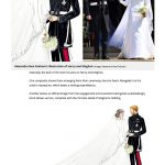 Mirror Royal Wedding Illustrations 2